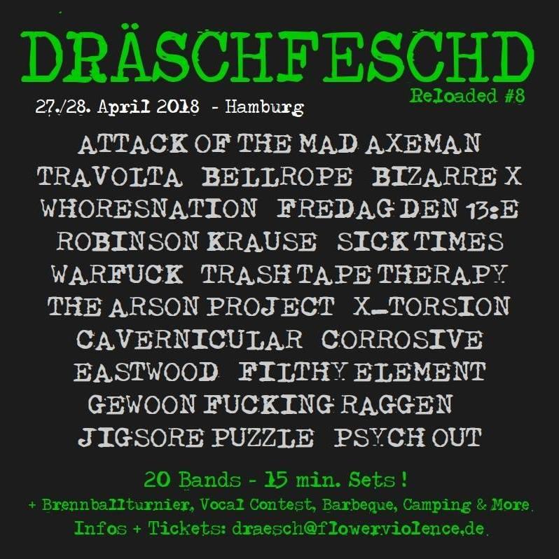 Plakat Dräschfeschd 2018