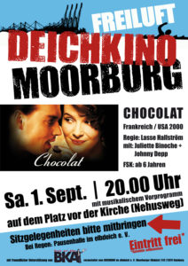"Plakat Deichkino ""Chocolat"""