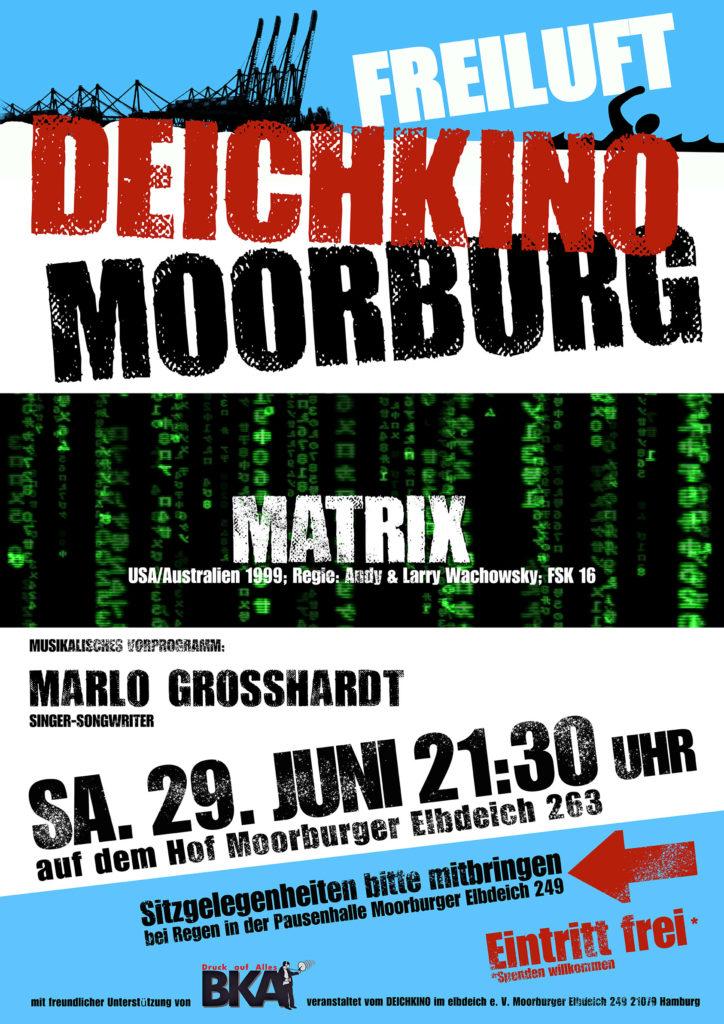 Plakat zum Deichkino 29.5.19