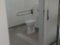 Eingangstür zur Toilette